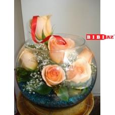 7 Голландских роз с оформлением (4512)