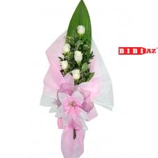 Букет из 5 роз (V112)