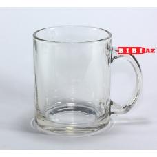 Прозрачная чашка с фото и надписью 134