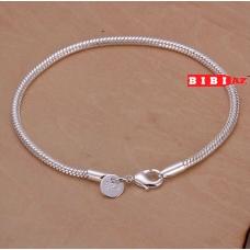 серебряный браслет 0101